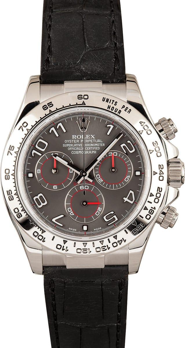 Buy Rolex Daytona with Leather Strap