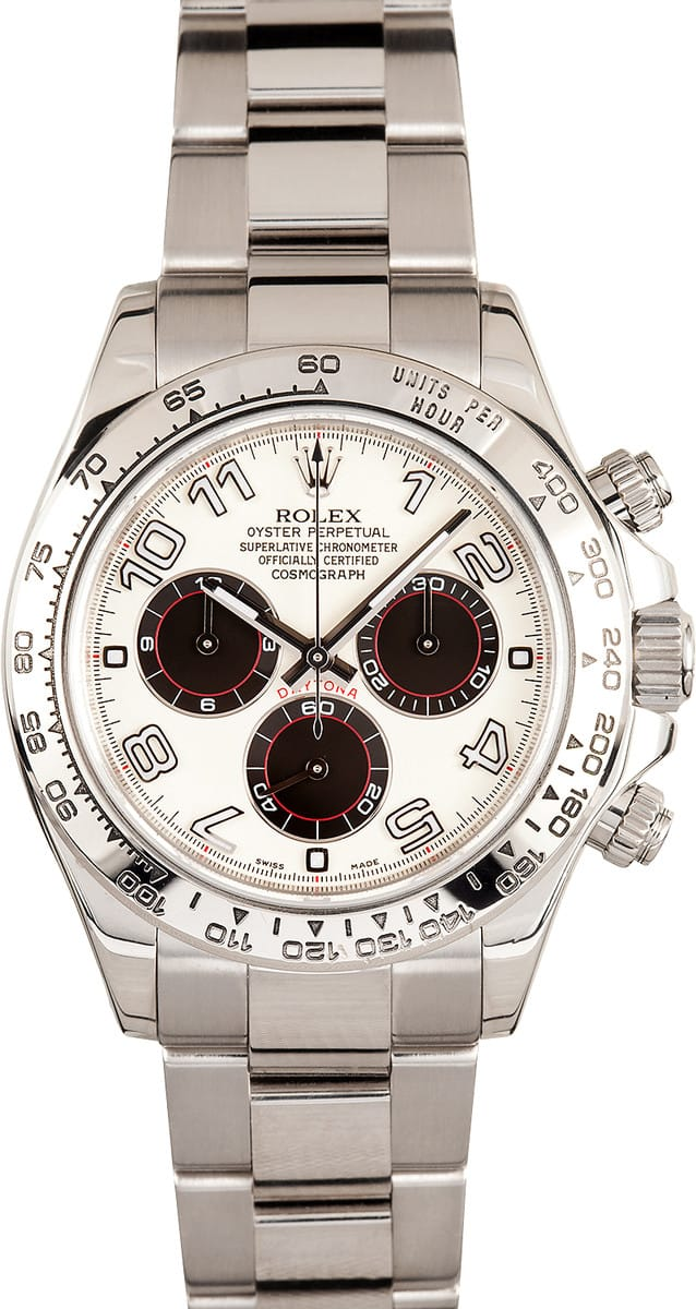 Rolex Daytona Cosmograph White Face Gold Save 1 000 S Now