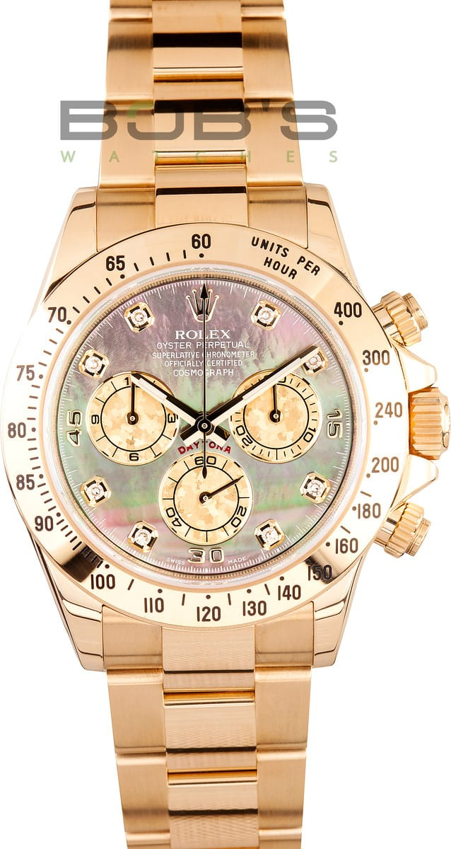 Rolex Daytona Mother Of Pearl Diamond Dial Save 1 000 S Now