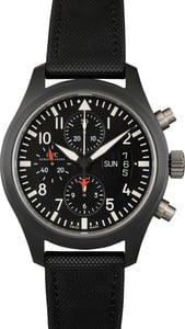 Pre-Owned IWC Pilots Chronograph Top Gun IW378901