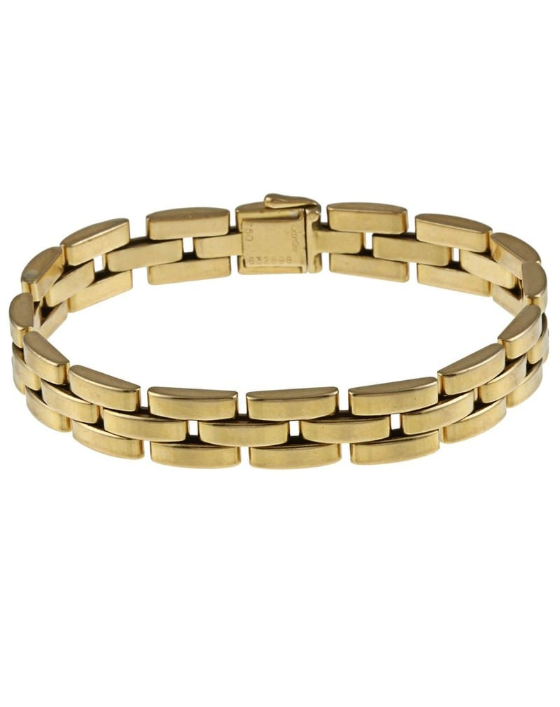 Cartier Panther 18k Yellow Gold Bracelet