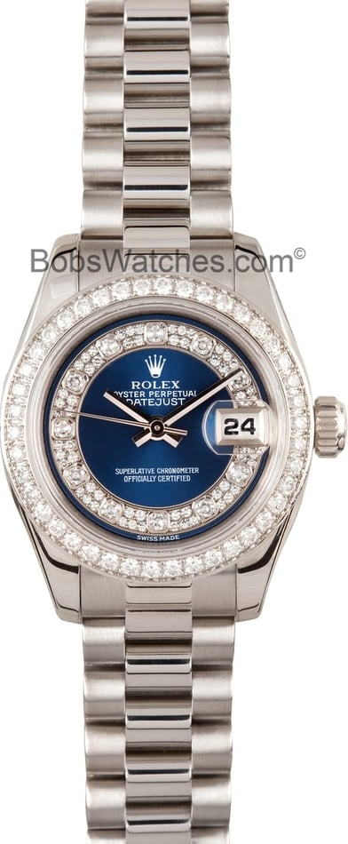 Ladies Rolex Platinum Masterpiece