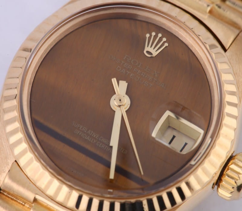 Rolex Ladies President Watch 6917 Used