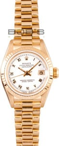 Pre-Owned Rolex Ladies President Watch 69178