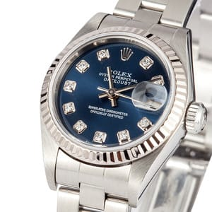 Pre Owned Ladies Rolex Oyster Perpetual DateJust 79174