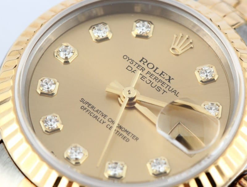 106950 Ladies Rolex Datejust Watch 79173 Diamond