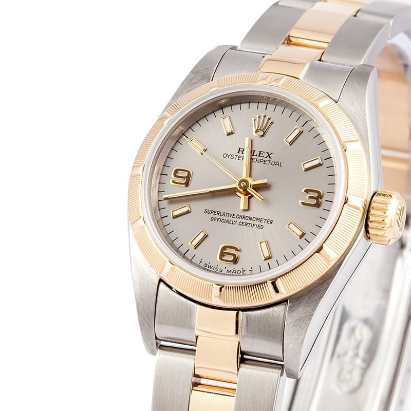 Ladies Used Rolex Oyster Perpetual Stainless Steel Watch - Pre-Owned
