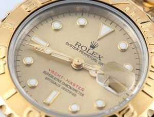 Pre-owned Rolex Yachtmaster Ladies 18k Gold & Steel 69623