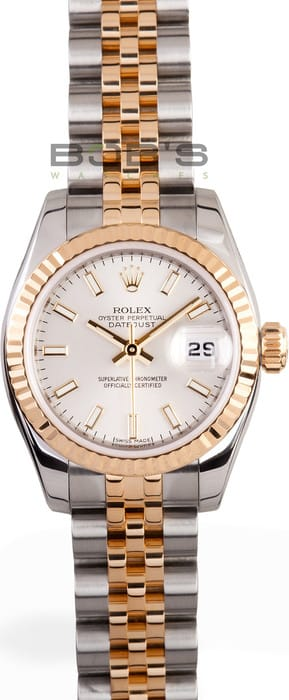 Ladies Rolex Datejust Watch 179173