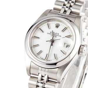 Ladies Rolex Oyster Perpetual Date 69160