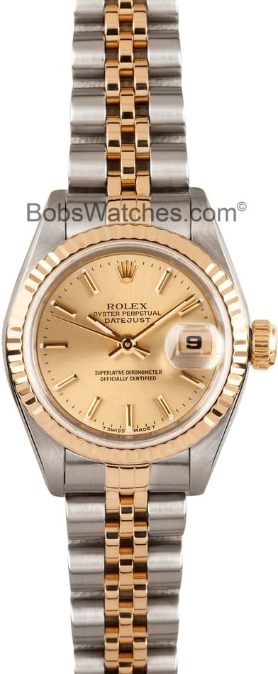 Used Ladies Rolex Date 69173