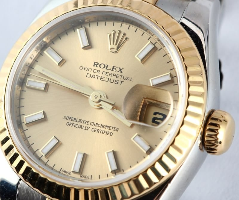 Ladies Two Tone Datejust New Model 179173