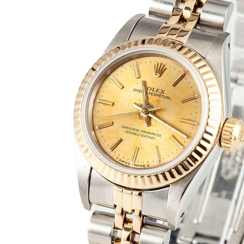 Ladies Rolex Oyster Perpetual 67193
