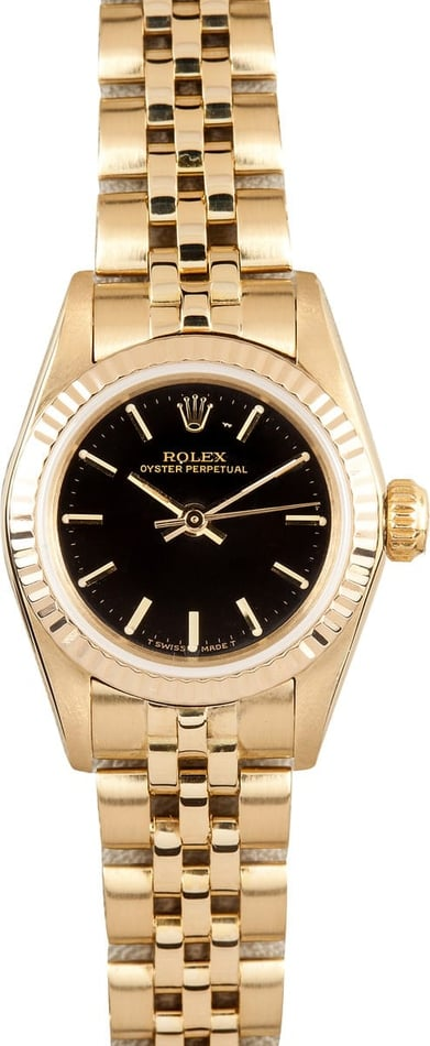Ladies Rolex Yellow Gold 67197