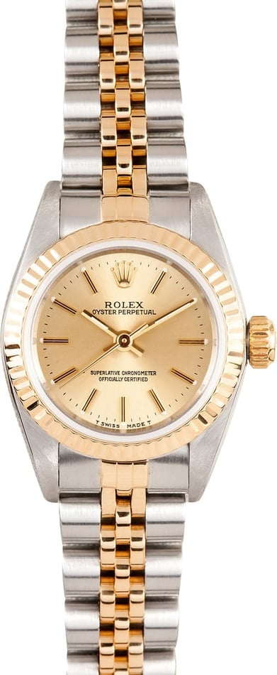 Rolex Ladies Oyster Perpetual 67193 2