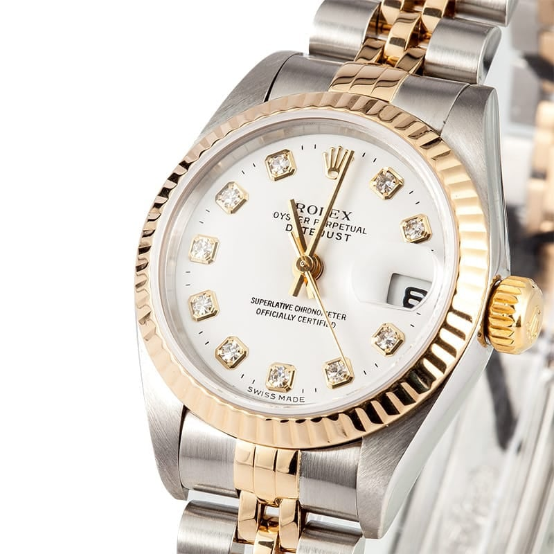 Lady Rolex Diamond Dial Datejust 79173