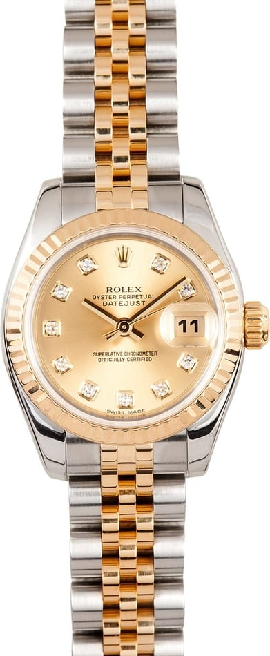 Rolex Lady Diamond Dial 179173