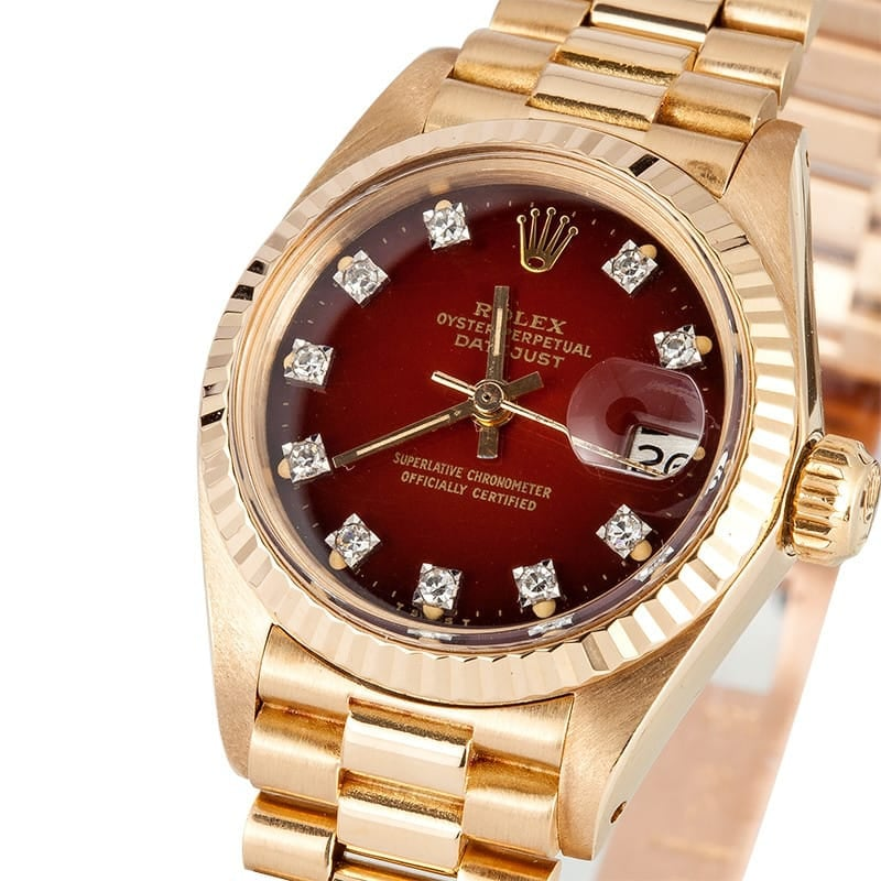 Ladies Gold Datejust 6917