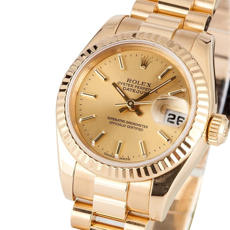 Ladies 18K Datejust 179178
