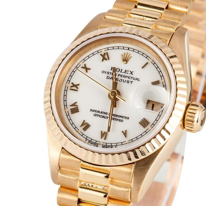 Ladies Rolex President 69178