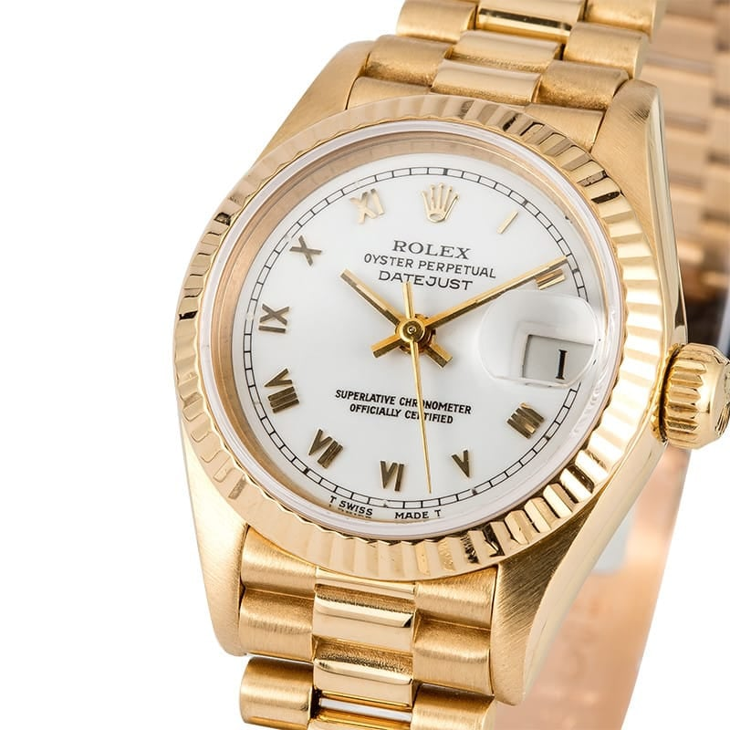 Ladies Rolex Presidential Datejust 69178