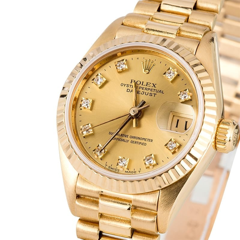 Rolex Ladies President 69178 Diamond