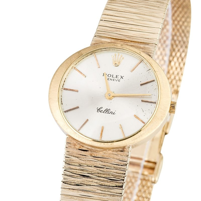 Rolex Ladies Cocktail Watch Gold