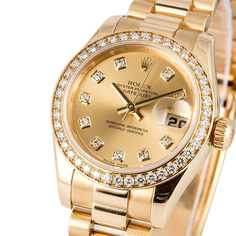Rolex Ladies Presidential Datejust 179178 Diamond