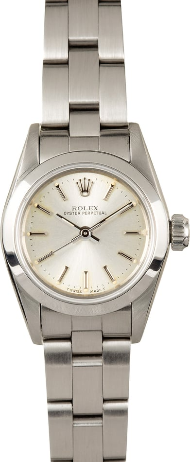 110353-1 Rolex Ladies Oyster Perpetual 67180