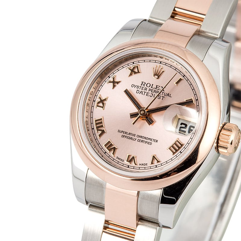 Rolex Lady Datejust 179161 Rose Gold
