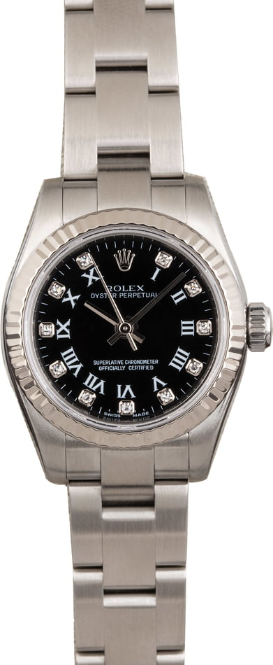 Rolex Ladies Oyster Perpetual 176234 Diamond