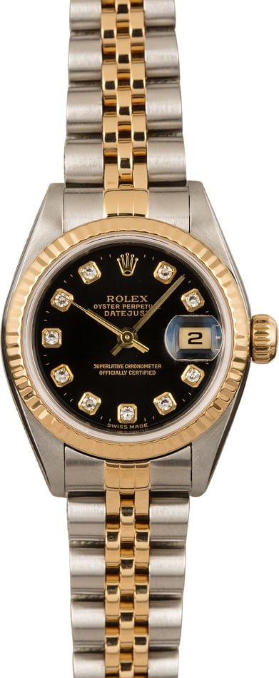 Ladies Rolex Datejust 79173 Diamond Dial