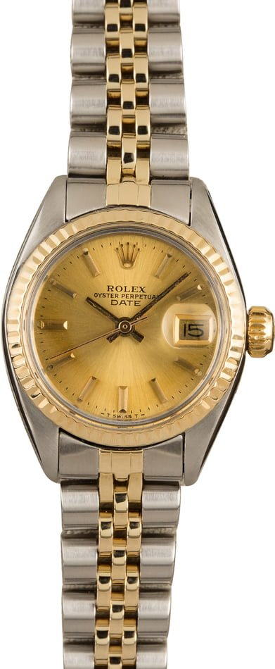 Pre Owned Rolex Lady Date 6917