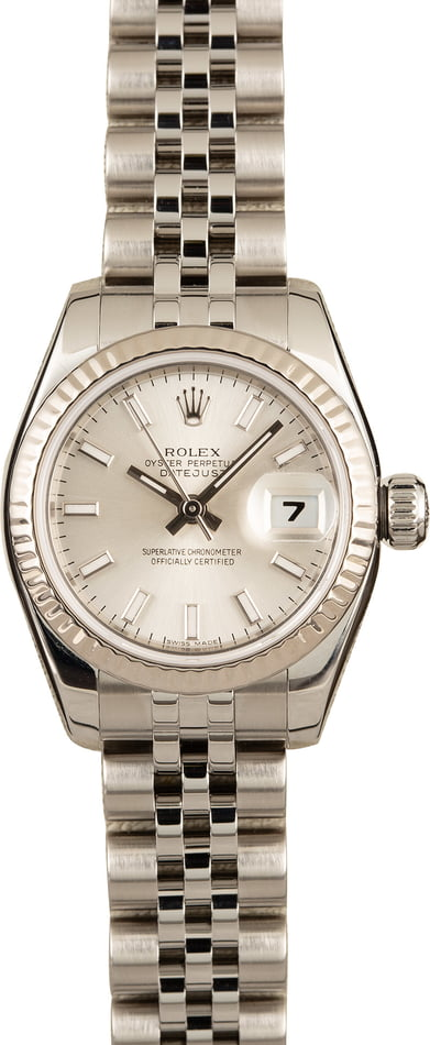 Rolex Ladies Datejust 179174 Luminous Markers
