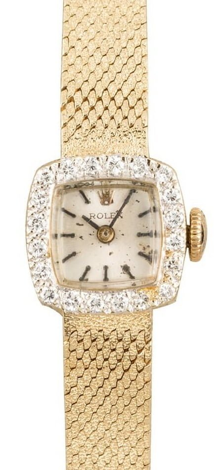 Vintage Rolex Ladies Diamond Cocktail Watch