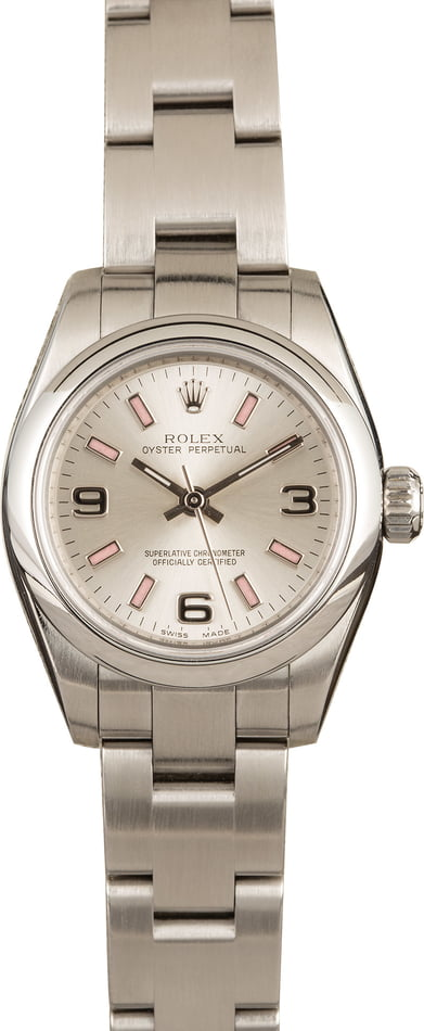 Pre Owned Ladies Rolex Oyster Perpetual 176200