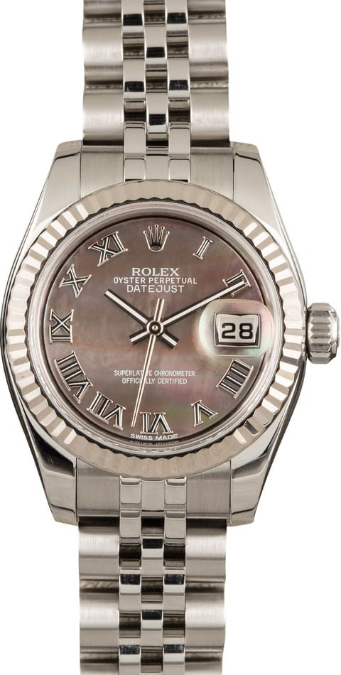 Rolex Ladies Datejust 179174 Mother of Pearl