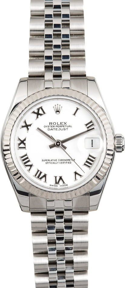 Lady Rolex Datejust Mid-Size