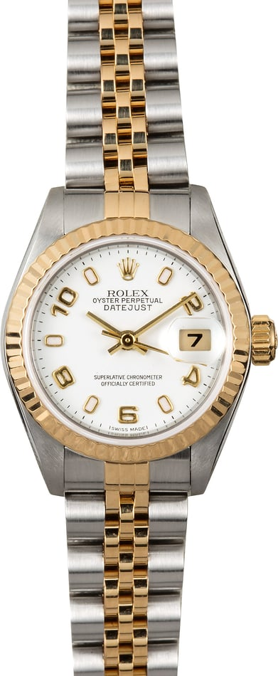 Datejust Ladies Rolex 79173 White