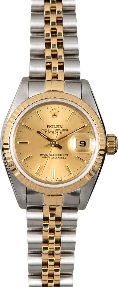 Datejust Rolex Ladies 79173 Champagne