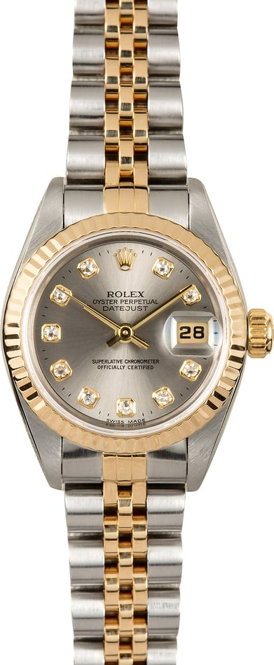 Diamond Rolex Lady-Datejust 69173