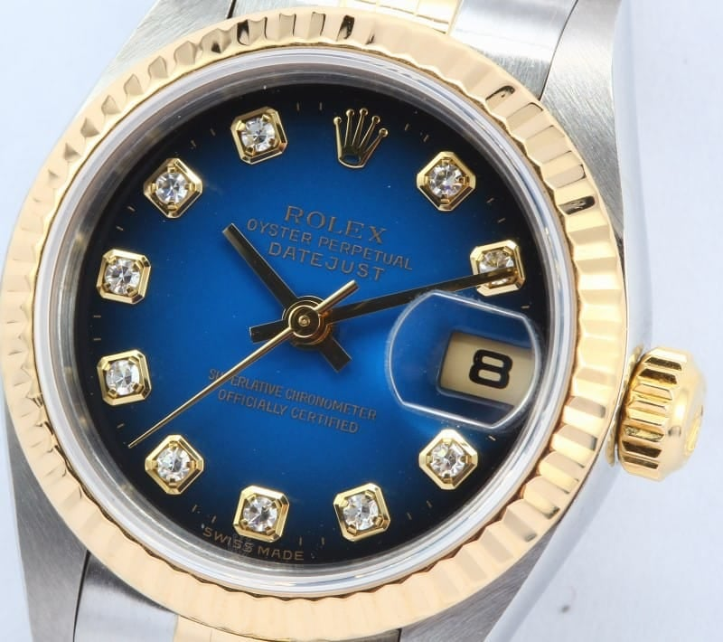 Ladies Rolex Datejust Diamond 79173
