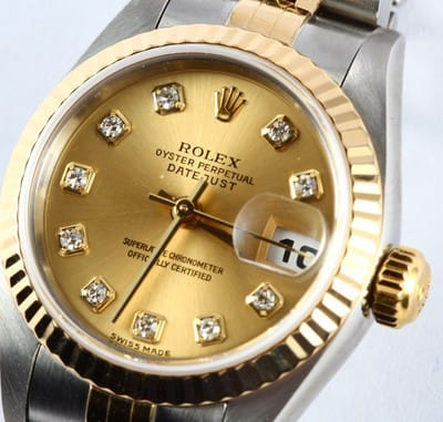 Ladies Rolex Datejust Watch 79173 Diamond