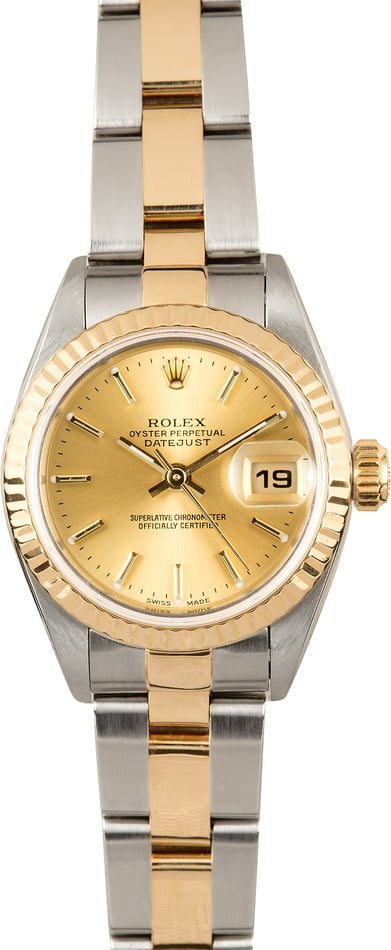 Ladies Datejust 79173 Champagne Dial