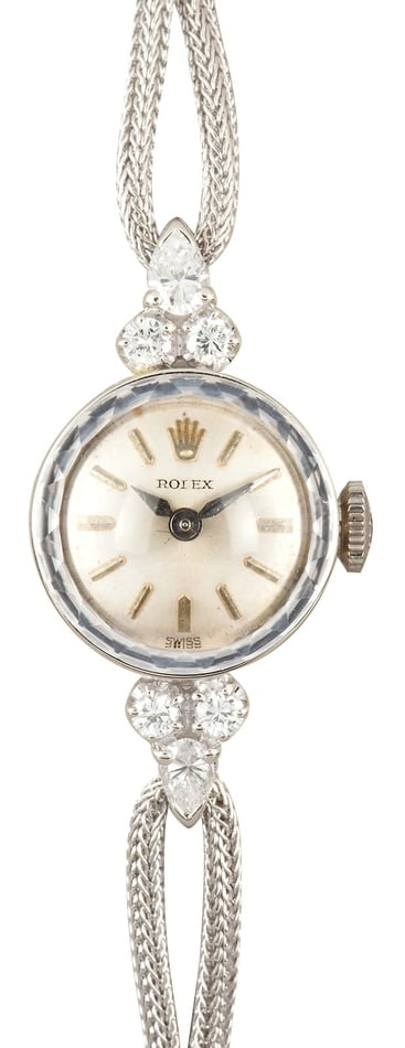 Lady Rolex Diamond Cocktail Watch 1940's