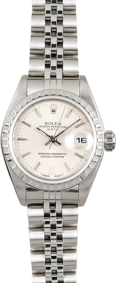 Ladies Rolex Date 79240 Steel Jubilee