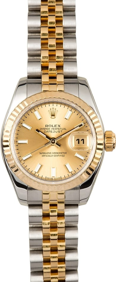 Rolex Ladies Datejust 179173