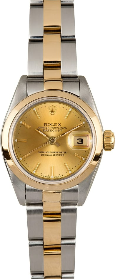 Ladies Rolex Datejust 69163 Oyster