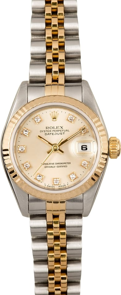 Rolex Lady Datejust 69173 Diamond Dial