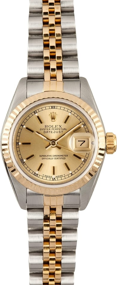 Ladies Rolex Datejust 69173 Two Tone